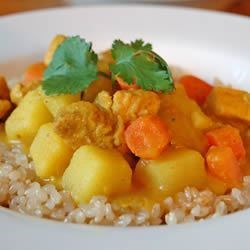 Michelle's Coconut Chicken Curry Recipe