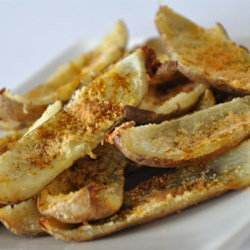 No-Fry Spicy Potato Skins Recipe