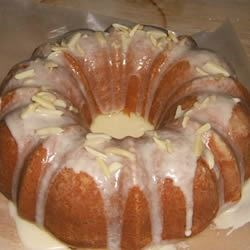 Plain Eggless cake --- baked  in a Bundt pan