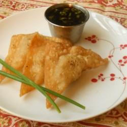 Grandma's Crispy Pork Wontons Recipe