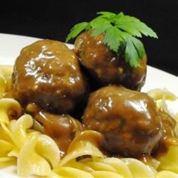 Dale's Swedish Meatballs Recipe