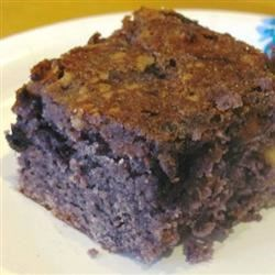 Photo of Blueberry Brownies by KETCHHOT