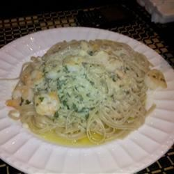 Linguine with Scampi Recipe