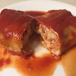 Turkey Cabbage Rolls