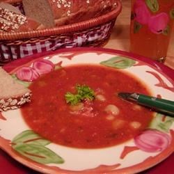 Mom's Best Ham and Bean Soup Recipe