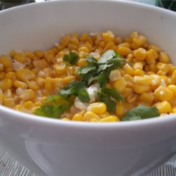 Mexican Street Vendor Style Corn Salad Recipe