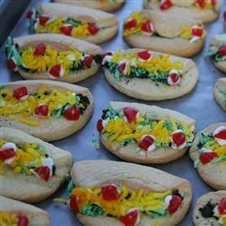 Cinco de Mayo Taco Cookies