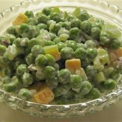 Kitty's Pea Salad