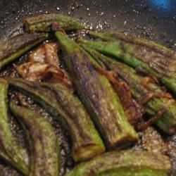 Easy Indian Style Okra Recipe