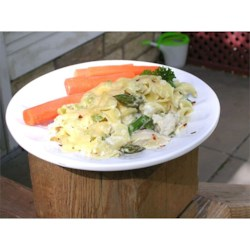 Fresh Asparagus and Chicken Casserole |