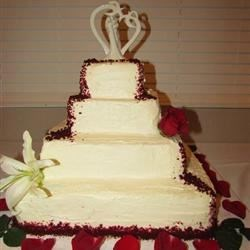 Wedding Cake - Sturdy Whipped Cream Frosting