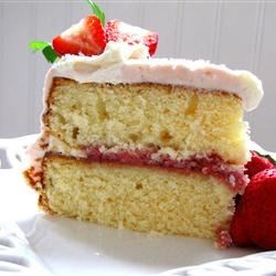 Simple White Cake Recipe