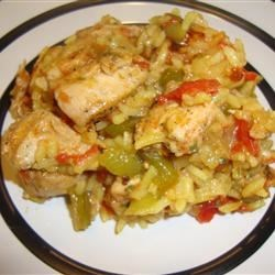 Carol's Arroz Con Pollo Recipe