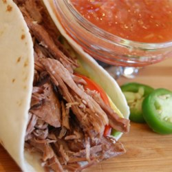 Kris' Amazing Shredded Mexican Beef Recipe