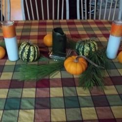 Fall '10 tablescape