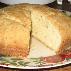 English Caraway Cake Recipe