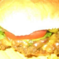 Lentil Cheeseburger