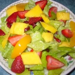Photo of The Really Good Salad Recipe with Pieces of Fruit by BOOTS582
