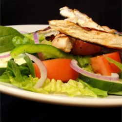 Lime Grilled Chicken Caesar Salad