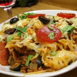 Pasta and noodle recipes allrecipes pizza casserole forumfinder Image collections