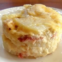 Photo of Decadent Three-Cheese and Bacon Au Gratin Potatoes by 5280cook
