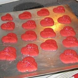 Gelatin Spritz Cookies Recipe
