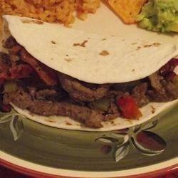 Sombrero Fajitas Recipe