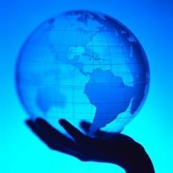 I have the whole world in my hand