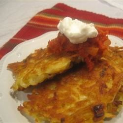 Mexican Potato Pancakes Recipe