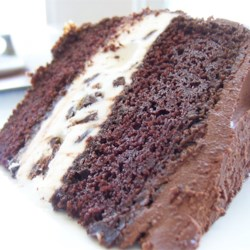 Ice Cream Cake with Butter Cream Frosting