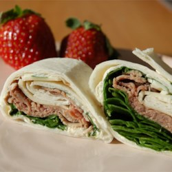 Roast Beef Horseradish Roll-Ups Recipe