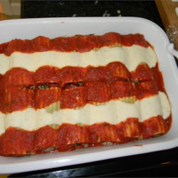 Italian Baked Cannelloni Recipe