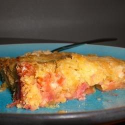 Rhubarb Cake II Recipe