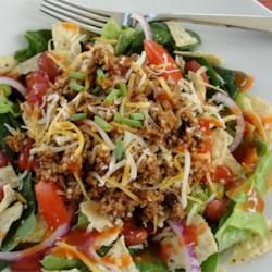 sues taco salad recipe photos