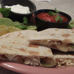 Quesadillas on the BBQ Recipe