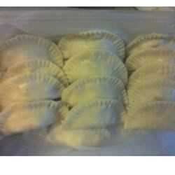 Pot Stickers before they were cooked