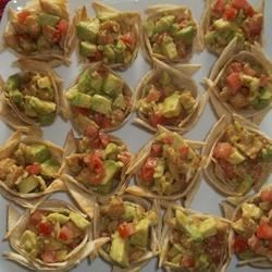 Photo of Chicken Fajita Tortilla Cups by Kerry
