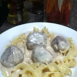 Jean's Swedish Faux Meatballs Recipe