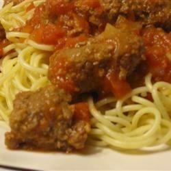 Italian Square Meatballs