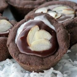 Almond Chocolate Coconut Cups Recipe