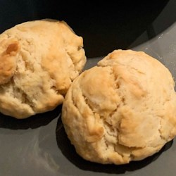 vegan buttery drop biscuits printer friendly