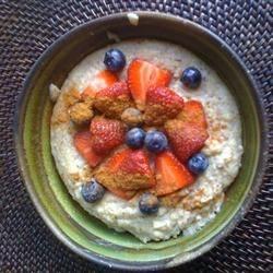 Breakfast Polenta Porridge