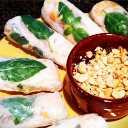 Thai Basil Rolls by .:CHef Andrea