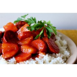 Island Kielbasa in a Slow Cooker Recipe
