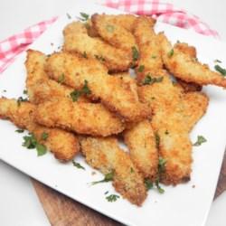 tartar sauce battered fish sticks in the air fryer printer friendly