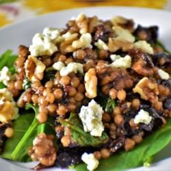 fig and gorgonzola israeli couscous salad printer friendly
