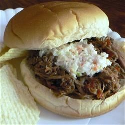 Barbecued Beef Sandwiches Recipe