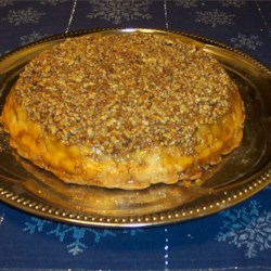Upside-Down Apple Pecan Pie Recipe