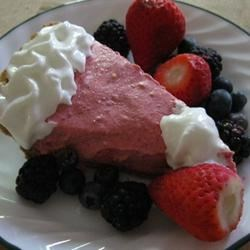 Cranberry Mousse Pie Recipe