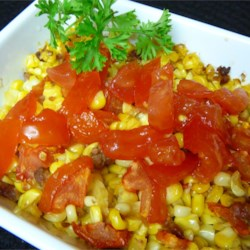 Fresh Corn and Tomato Casserole Recipe